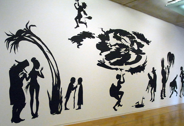 "Kara Walker ""Grub for Sharks: A Concession to the Negro Populace"""