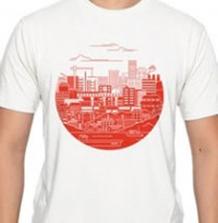 Threadless Tee by: Jason Yang donate to: American Red Cross price: $20.00