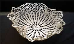 "Kristen Wicklund ""Lace Bowl"""