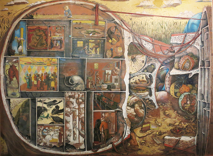 """The Maze"" ©William Kurelek"