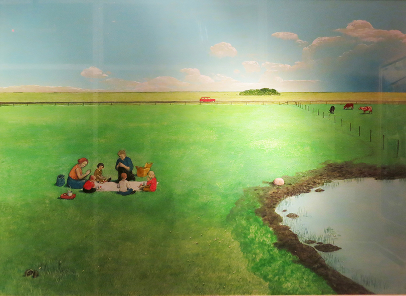 """Out of the Maze"" ©William Kurelek"