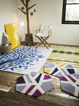 MIWA AKABANE DESIGN RUG COLLECTION取扱店:イルムス 他